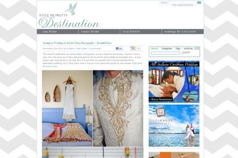Style Me Pretty Destination Wedding Blog