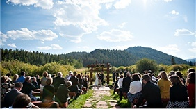 Red Feather Lakes Wedding at Beaver Meadows Ranch Resort